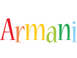Armani birthday logo