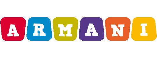 Armani kiddo logo