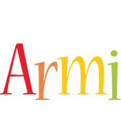 Armi birthday logo