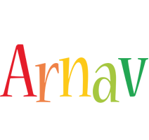 Arnav birthday logo