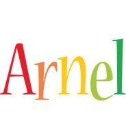Arnel birthday logo