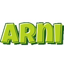 Arni summer logo