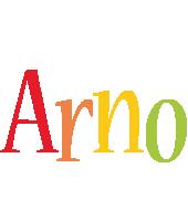 Arno birthday logo