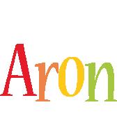 Aron birthday logo