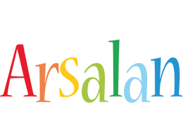 Arsalan birthday logo