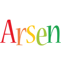 Arsen birthday logo
