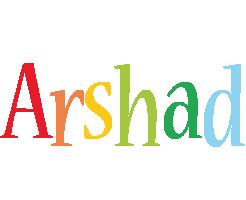 Arshad birthday logo