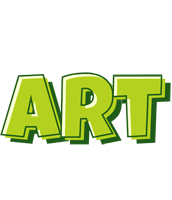 Art summer logo