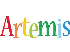 Artemis birthday logo