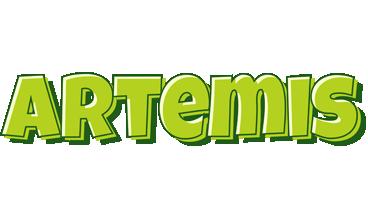 Artemis summer logo