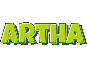 Artha summer logo