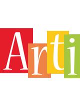Arti colors logo