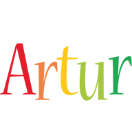 Artur birthday logo