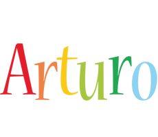 Arturo birthday logo