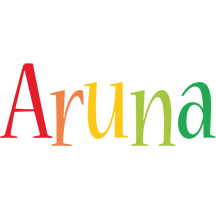 Aruna birthday logo