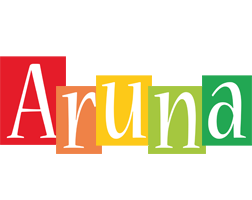 Aruna colors logo