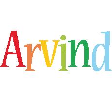 Arvind birthday logo