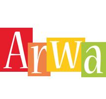 Arwa colors logo