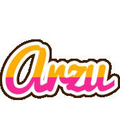 Arzu smoothie logo