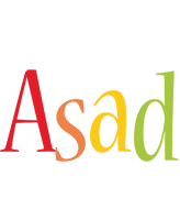 Asad birthday logo