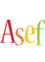 Asef birthday logo