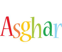 Asghar birthday logo