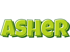 Asher summer logo