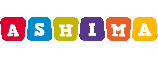 Ashima kiddo logo