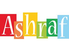 Ashraf colors logo