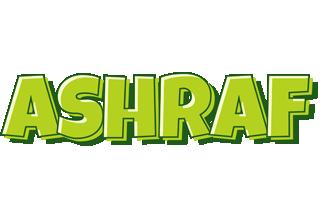 Ashraf summer logo