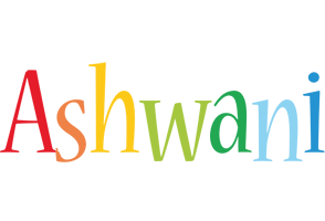 Ashwani birthday logo
