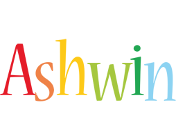 Ashwin birthday logo