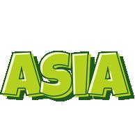 Asia summer logo