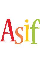 Asif birthday logo