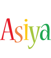 Asiya birthday logo