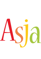 Asja birthday logo