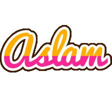 Aslam smoothie logo