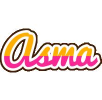 Asma smoothie logo