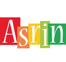 Asrin colors logo
