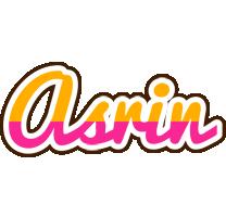 Asrin smoothie logo