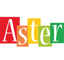 Aster colors logo