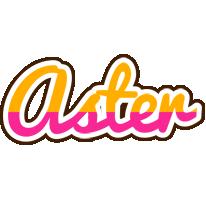 Aster smoothie logo