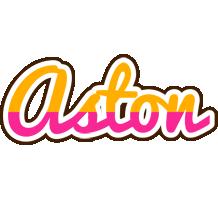 Aston smoothie logo