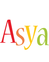 Asya birthday logo