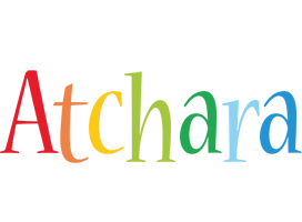 Atchara birthday logo