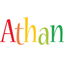 Athan birthday logo