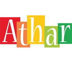 Athar colors logo