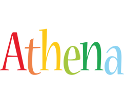 Athena birthday logo