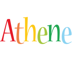 Athene birthday logo