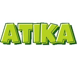 Atika summer logo